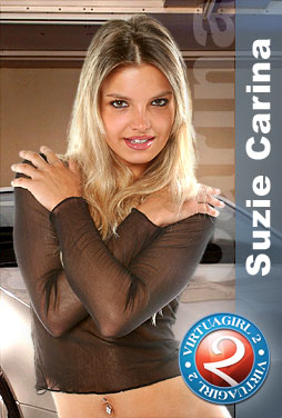 Suzie Carina strips on your desktop